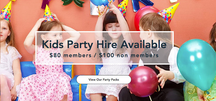 party hire available